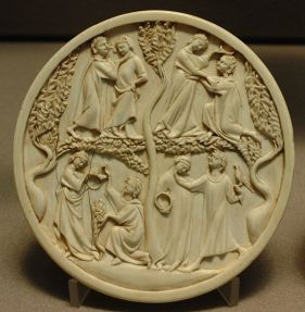 Scenes of courtly love
