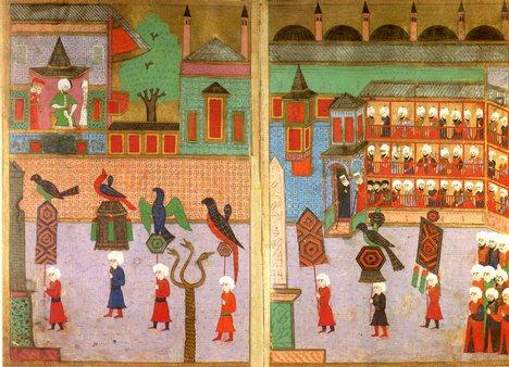 Byzantine procession