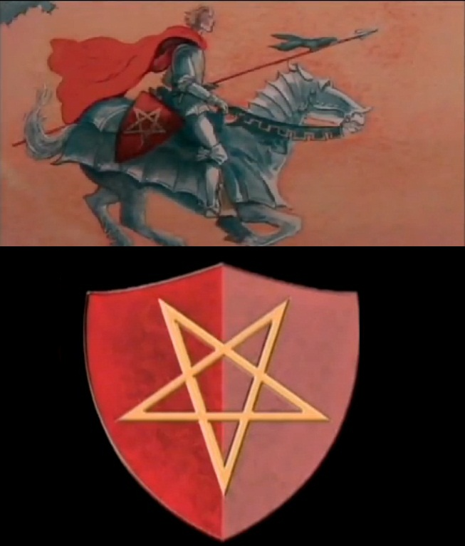 an examination of the pentangle in the shield of gawain in the epic poem sir gawain and the green kn A companion to the gawain the hunts in sir gawain and the green knight the description of the pentangle on gawain's shield with its emphasis on the.