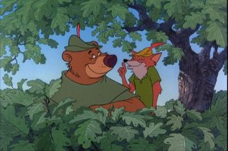 robin hood and little john disney