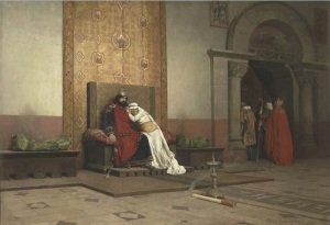 excommunication of robert the pious jean paul laurens