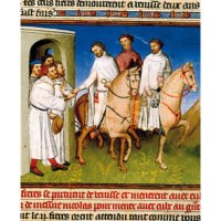 Marco Polo and a couple of early Christian relics involving fire and breast milk